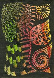 Tree Zentangle by MindfullyArtistic