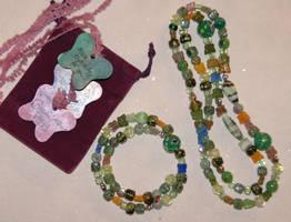 Grandma's Jewelry Set by MindfullyArtistic