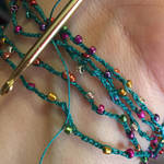 First Ever Crocheted Necklace by MindfullyArtistic