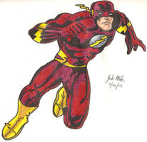 The Flash by Shigdioxin
