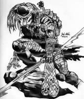 The Predator by Shigdioxin