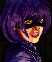 Hit-Girl by Shigdioxin