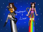 Tac Nyan and Nyan Cat Anime Cosplay by Blabbercat