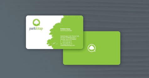 park kitap business card by ferhatkonas