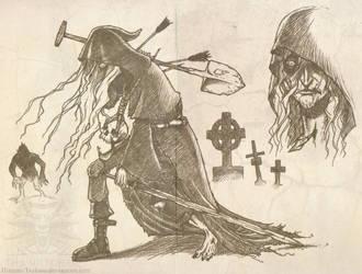 The Phantom Gravedigger by Hizumi-Tsukasa