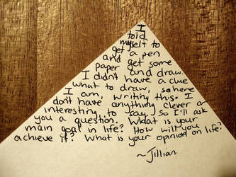 Questions For The World by JulianTheOllie