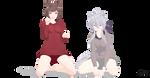 DL:Tda Hoodie Meiko and Haku [HAPPY NEW YEAR] by xSouopu
