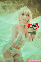 Bridal Peach by Harucake