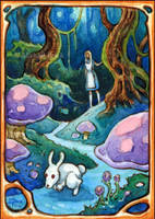 Alice ACEO by MichaelBrack