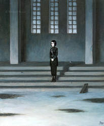 Little black angel by MichaelBrack