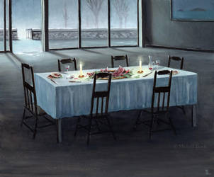 Midnight supper by MichaelBrack