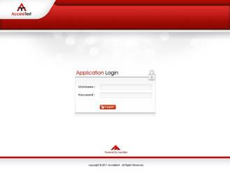 Web Interface by 74studio