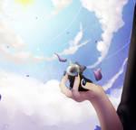 HHG: AD: Mythic - Purple Petal Gale by FandomKisses