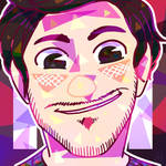 [ Youtubers ] Holographic Pinkstache by FandomKisses
