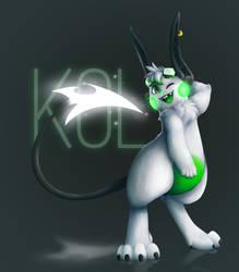 [ Glowing Tails ] Kol by FandomKisses