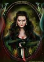 Morgana Pendragon by manulys