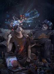 CYBER suicide by KonstantinBratishko