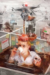 The System makes us biorobot by KonstantinBratishko