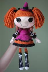 LALALOOPSY Candy Broomsticks Amigurumi Doll by Npantz22