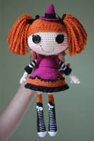 LALALOOPSY Candy Broomsticks Amigurumi Doll by Npantz22