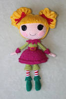 LALALOOPSY Holly Sleighbells Amigurumi Doll by Npantz22