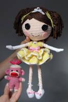 LALALOOPSY OC Crochet Amigurumi Doll by Npantz22