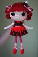 LALALOOPSY Choco Whirl Swirl Amigurumi Doll by Npantz22