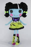 LALALOOPSY Scraps Stitched N Sewn Amigurumi Doll by Npantz22