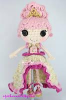 LALALOOPSY Goldie Luxe Crochet Amigurumi Doll by Npantz22