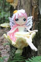 Althaena the Summer Fairy Crochet Amigurumi Doll by Npantz22