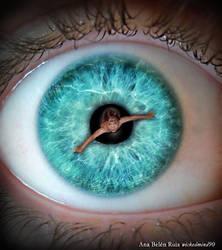 The pool eye by AnaBelenRuiz