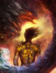 Flamewalker by Newsha-Ghasemi