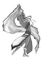 Sketch Commission 4: Dilynrae by Newsha-Ghasemi