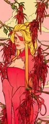 Pink Amaranth by Newsha-Ghasemi