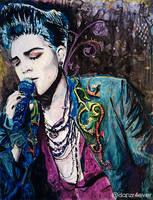Adam on Yupo by danzr4ever