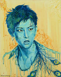 Tao in Blue by danzr4ever