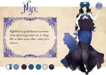 Charactere Sheet - Magical Seasons - Nyx by Chibi-Lili
