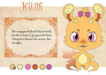 Charactere Sheet - Magical Seasons - Hilith by Chibi-Lili