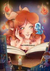 Raya et Brunhild by Chibi-Lili