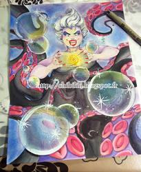 Watercolor - Ursula by Chibi-Lili