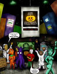 Happy Halloween by DigiratComics