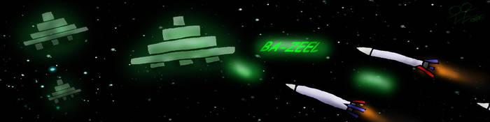 Alien Vs Rocket by DigiratComics