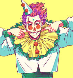 This Hot Clown by zdecemberz