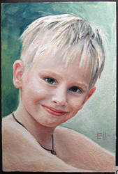 Portrait of a little brother by AelitaDir