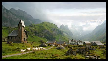 Swiss Alps by Capoun