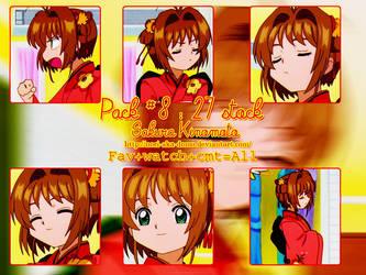 Pack no.8 : Sakura Kinomoto by Nori-Aka-Domo