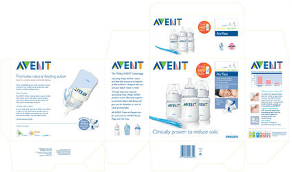 Philips Avent Bottle packaging by AddyKing