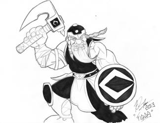 Comicbookist Angry Dwarven Warrior! by Figgs45