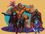 New Age Heroes United by Figgs45