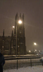 church in the snow by kitten-Red